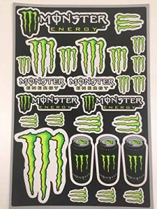 Planche stickers Monster Energy – Déco Dirt Bike