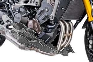 Sabot moteur Puig Yamaha MT-09 2014-2015 , MT-09 TRACER 2015 carbonifère (Akrapovic)