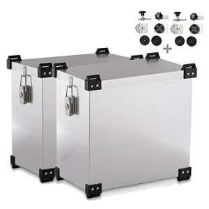 Valises laterales Aluminium pour Yamaha XTZ 750 Super Tenere Namib 41l et 36l AV. kit de Montage pour Supports 16mm
