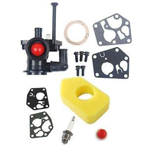 Carburateur OuyFilters avec filtre à air 698369 pour Briggs & Stratton 795477, 795469, 794147, 699660, 794161, 498811