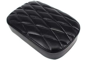 HANEU passager Pad Assise 8 Ventouse pour Dyna Sportster Softail Touring XL 883 1200