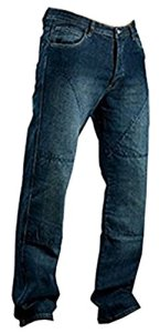 Juicy Trendz Hommes Motorcycle Moto Pantalon Motards Jeans Renforcée Aramide Protection