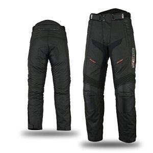 mbsmoto mp-51Roader Cruiser Moto Moto Scooter Touring Textile imperméable coupe-vent en Cordura Pantalon pour homme