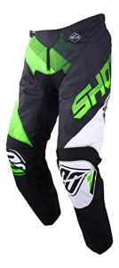 SHOT Pantalon Cross Devo Ultimate, Noir/Néon Vert