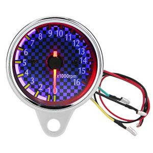 Tachymètre – Tachymètre Électronique Tachymètre Électronique Tachymètre – CC 12V Jauge 16000rpm