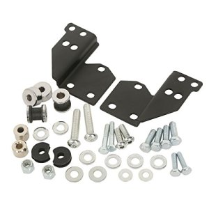 XMT-MOTOR Moto Kit boulonnerie de Docking avant convient pour Harley Davidson Touring Road King Street Electra Glide Standard 1997-2008