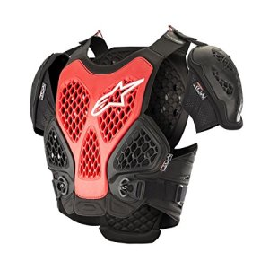 Alpinestars Pare Pierre Bionic Chest Protector Black Red-XS