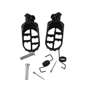 Moto Foot Pegs Footpegs Pour Yamaha PW50 PW80 TW200 PW 50 80 TW 200 DIRT Bike