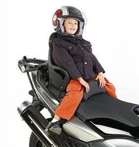 Moto siège enfant Peugeot Kisbee 50 Givi S650 noir