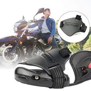 NAKELUCY Protège-bottes pour moto Couvre-bottes Accessoires de protection Manette de dérailleur elegance