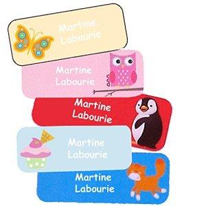 Stickers Personnalisés Prénom Et Nom | Autocollants Personnalisés Étanches Motifs Variés Fille (40)