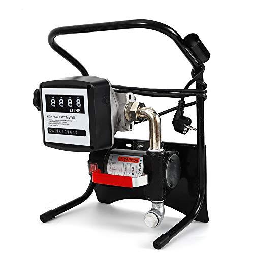 YUNRUX Pompe à carburant électrique 220 V 375W Pompe de remplissage Pompe à huile Pompe à air auto-amorçante 2400 l/h