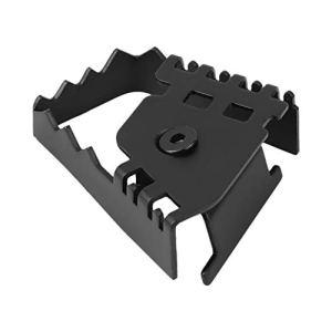 Extension de la pédale de frein-Pied arrière de la pédale de frein Agrandir Extension du prolongateur de rallonge pour BMW F800GS F700GS R1150GS R1200GS (Couleur : Black)