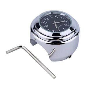 Moto Étanche Moto Guidon Montage Cadran Rond Horloge Accessoire Universel Horloge UHAPY