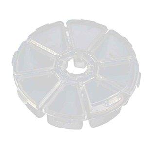 Zerama 8/10/15/24/36 Grids Bricolage Compartiment PP Boîte de Rangement Boucle d'oreille Bijoux Conteneur Organisateur Porte-Cas avec brucelles