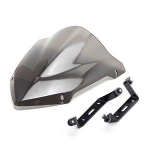MT-07 Pare-Brise de Moto, MT07 FZ07 FZ-07 2018 2019 Haute Qualité en Aluminium de Moto Pare-Brise