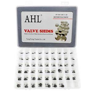AHL 9.48mm 52pcs 1.20-4.00mm Pastille réglage soupapes kit Valve Shim pour Polaris Outlaw 500 2006-2007