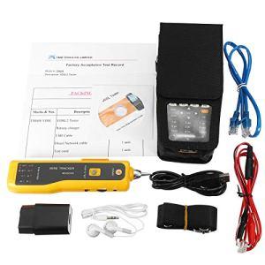 HELEISH TM-600 Tout-en-un Testeur VDSL VDSL2 Condensateur de suivi de tonalité de fonction TDR/ADSL/VDSL/OPM/VFL Accessoires moto