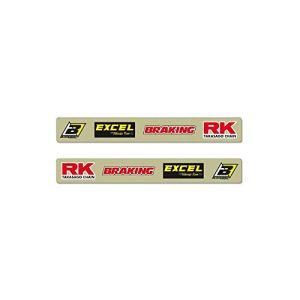 Stickers de bras oscillant BLACKBIRD Crystall Kawasaki KX-F250/450