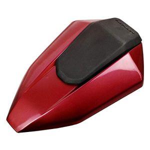Couverture de capot de siège arrière de moto peinte pour 2013-2017 Yamaha FZ07 MT07 FZ-07 (Rouge)