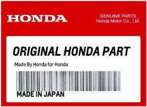 Générique Honda 08F75-MCK-100Q Dossier chromé