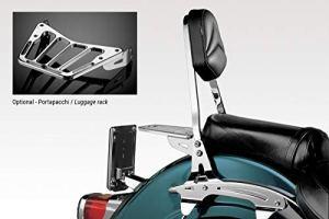 Volusia VL 800 2002/04 – Dossier (S-0600) – Sissy Bar – Facile à Installer – Visserie Inclus – Accessoires De Pretto Moto (DPM Race) – 100% Made in Italy