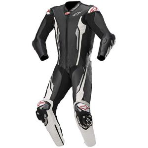 Alpinestars Racing Absolute Combinaison en cuir compatible Tech Air Noir/blanc