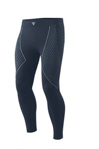 Dainese-D-CORE THERMO Pantalon LL, Noir/Anthracite, Taille XS/S