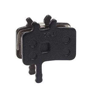(P196BP) Plaquettes de frein à disque en résine de haute qualité pour Sram Avid VTT semi-métalliques, plaquettes de freins hydrauliques 1 paire – Noir