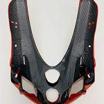 Pare-brise avant avant Fairing compatible avec Ducati 999 R Fila année 2004.