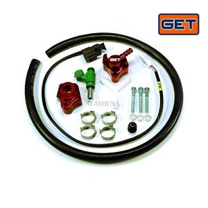 Secondary Fuel Injector Kit (fuel Rail + Support Bracket + Fuel Injector + Adaptor Harness)