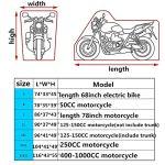 Abris Moto Housse Moto Housse De Protection pour Moto Étanche Moto Couverture Moto Couvre pour Le Stockage À L'extérieur Moto Abri b,m