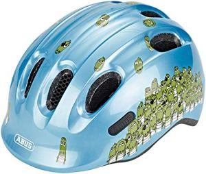 Abus Smiley 2.0 Casque pour vélo Garçon, Blue Croco, 50-55 cm