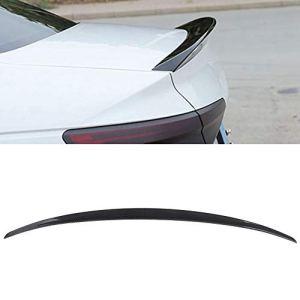 Aileron de coffre arrière, fibre de carbone Aileron de coffre de coffre arrière Fibre de carbone pour A4 09-16