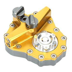 Amortisseurs de moto, amortisseur directionnel réglable universel Conversion de moto Amortisseur directionnel en alliage d'aluminium
