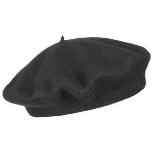 Beret Basque berets basques berets (56 cm – noir)