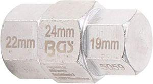 BGS 5059 | Jeu de douilles spéciales moto | 19 – 22 – 24 mm