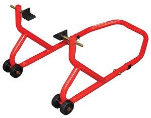 Biketek Série 2 Support de roue arrière ultrarésistant Rouge