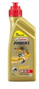 Castrol Power1 4-50 huile pour moto 20 w 1 l