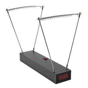 Chronographe Balistique, KKmoon Chronographe de Précision Balistique, Instrument de Mesure de Vitesse de Vélocimétrie, Outil de Mesure de la Vitesse de Proue, Alliage d'aluminium