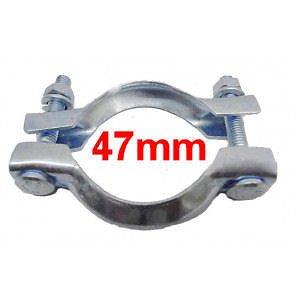 Collier Echappement Diamètre 47mm CNP2 Serrage pot ou tuyau