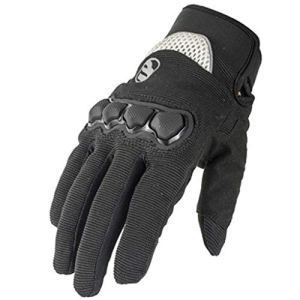 CQQO Gants De Moto Été Section Mince Respirant Paire De Gants De Course Hors Route for Motards (Color : B, Size : L)