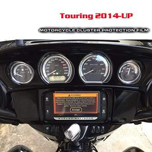 For Harley Touring 2014 2015 2016 2017 Écran Scratch Protection Film Cluster Protection for Harley Touring 2014 2015 2016 2017