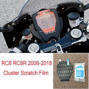 For KTM RC8 RC8R 2008-2018 Cluster Protection Scratch Film Tachymètre Screen Protector 08-18
