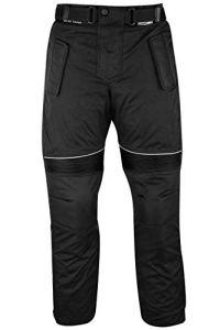German Wear Pantalon de Moto Cordura, Noir, 46