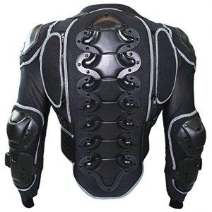German Wear Protektor Veste Moto, Noir, 3XL