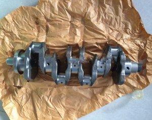 Gowe Vilebrequin pour moteur diesel Kubota V3307 Vilebrequin 1G776-23010 1G772-23010