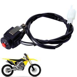 Hieefi 1 Pc Moto Kill Stop Switch Interrupteur Darrêt Du Moteur Moto Accessoires Fournitures Kill Switch Pour Dirt Bike Moto Accessoires