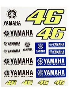 Jeu D'autocollant Valentino Rossi Vr46 Factory Racing Royal Bleu (Default , Bleu)