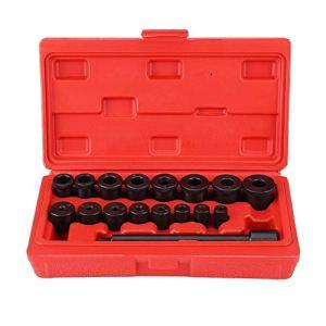 KSTE 17pcs Centrage Mandrin d'embrayage Tool Kit d'embrayage Installation Outil de couplage Spine Set